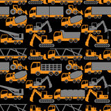Heavy transportation and construction vehicle Stock Photos