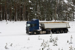 Heavy truck Stock Photography