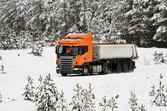 Heavy truck Royalty Free Stock Photography