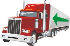 Heavy truck Stock Image