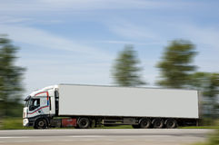 A heavy truck royalty free stock image
