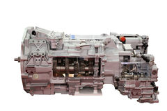 Heavy truck automatic transmission isolated Stock Photography
