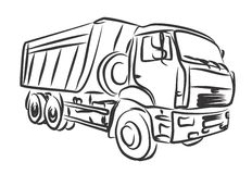 Heavy truck Stock Images