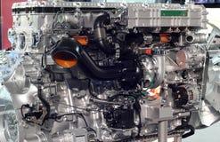 Heavy truck engine Stock Image