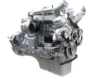 Heavy truck engine Royalty Free Stock Photography
