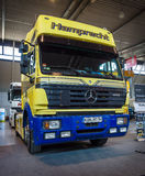 Heavy truck Mercedes-Benz SK 1853 LS, 1995 Stock Photos