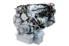Heavy truck power engine Royalty Free Stock Photo