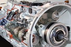 Heavy truck transmission detail Royalty Free Stock Photo