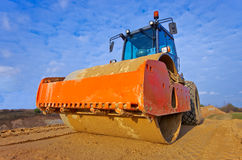 Heavy Vibration roller Royalty Free Stock Image