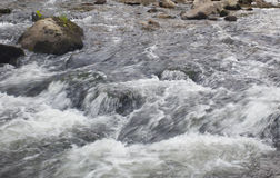 Heavy water flow Stock Images