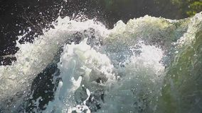 Free Heavy Water Torrent Running Rapidly Downhill, Splashes Closeup Stock Photography - 106748372