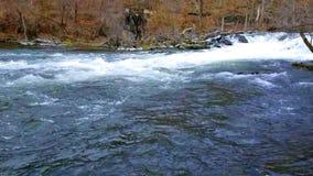 Fishkill Creek in Early Spring stock video