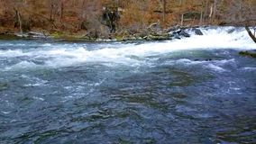 Fishkill Creek in Early Spring stock footage