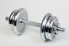 Heavy weight. Bodybuilding barbells Stock Photos