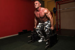 Heavy Weight Deadlift Royalty Free Stock Photos