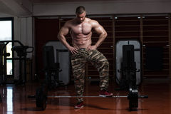 Heavy Weight Deadlift Royalty Free Stock Images
