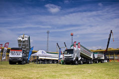 The Heavy Weight Expo - Renault Trucks Royalty Free Stock Images