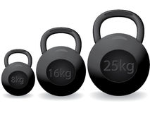 Heavy weights Royalty Free Stock Photo