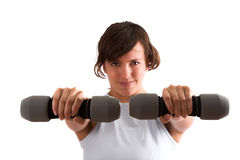 Heavy weights Royalty Free Stock Image