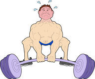 Heavy Weights stock illustration