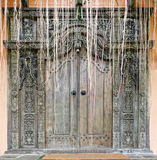 Heavy Wooden Door Stock Images