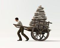 Heavy work vector illustration