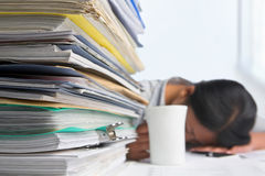 Heavy workload Royalty Free Stock Photography