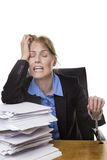 Heavy workload concept Stock Photo
