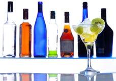 Heb één drank en ben gelukkig Stock Fotografie