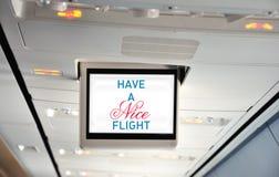 Heb een aardige vlucht Stock Foto