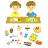 Heb een snack royalty-vrije illustratie