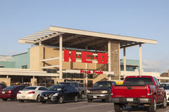 HEB Grocery Store in Houston, Texas Royalty Free Stock Images
