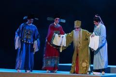 """heb kinderen en kleinkind-verslag van Zuidelijke boeg-Jiangxi opera""""four dromen van linchuan† Stock Afbeelding"""
