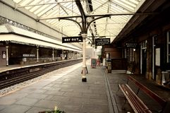Hebden Bridge Station Stock Photography