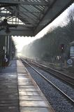 Hebden Bridge Station Royalty Free Stock Images