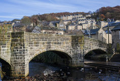 Hebden Bridges Bridge Stock Images