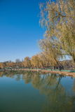 Hebei Chengde Mountain Resort Lake Lake Stock Photo