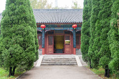 HEBEI, CHINA - Oct 23 2015: Four Righteousness Hall at Zhaoyun T Royalty Free Stock Photo