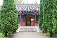 HEBEI CHINY, Oct, - 23 2015: Cztery Hall przy Zhaoyun T prawość Zdjęcie Royalty Free