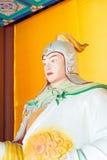 HEBEI CHINY, Oct, - 23 2015: Zhao yun statua przy Zhaoyun świątynią A Obraz Stock
