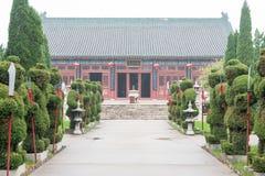 HEBEI CHINY, Oct, - 23 2015: Zhaoyun świątynia sławny historyczny si Zdjęcia Stock