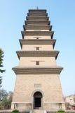 HEBEI, CINA - 23 ottobre 2015: Tempio di Kaiyuan un si storico famoso fotografie stock libere da diritti