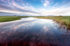 Hebei Guyuan river grasslands Royalty Free Stock Photography