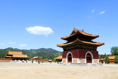 Hebei Zunhua Eastern Qing Tombs Royalty Free Stock Photography