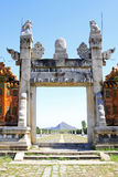 Hebei Zunhua Eastern Qing Tombs Royalty Free Stock Images