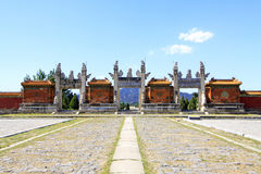 Hebei Zunhua Eastern Qing Tombs Stock Image