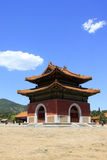Hebei Zunhua Eastern Qing Tombs Stock Photo