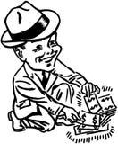Heben Sie Extrabargeld auf Lizenzfreies Stockbild