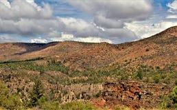 Heber Overgaard, Navajo County, Sitgreaves nationalskog, Arizona, Förenta staterna royaltyfri foto