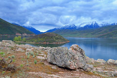 Heber Valley Cloudy morning Stock Photography